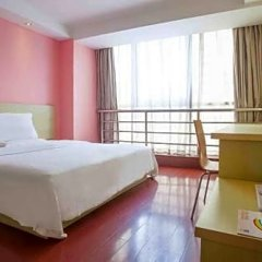 Отель 7 Days Inn Chongqing University Town Xijie Pedestrian Street Branch комната для гостей фото 3