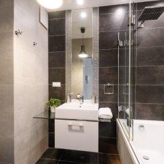 Отель Warsaw Night Apartments Польша, Варшава - отзывы, цены и фото номеров - забронировать отель Warsaw Night Apartments онлайн ванная фото 2