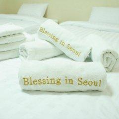 Отель Blessing in Seoul Южная Корея, Сеул - отзывы, цены и фото номеров - забронировать отель Blessing in Seoul онлайн ванная