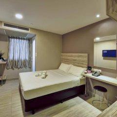 Отель Ibis Budget Singapore Crystal сейф в номере