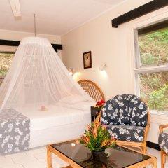 Отель Crusoe's Retreat Фиджи, Вити-Леву - отзывы, цены и фото номеров - забронировать отель Crusoe's Retreat онлайн комната для гостей фото 4