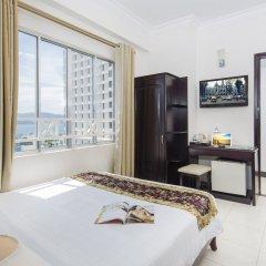 Отель Brandi Nha Trang Hotel Вьетнам, Нячанг - 1 отзыв об отеле, цены и фото номеров - забронировать отель Brandi Nha Trang Hotel онлайн комната для гостей фото 3