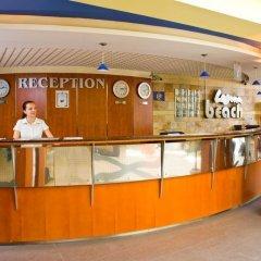 Отель Laguna Beach Болгария, Албена - отзывы, цены и фото номеров - забронировать отель Laguna Beach онлайн интерьер отеля