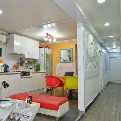Yakorea Hostel Itaewon Сеул комната для гостей
