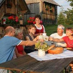 Отель Apparthotel Montana Австрия, Бад-Миттерндорф - отзывы, цены и фото номеров - забронировать отель Apparthotel Montana онлайн питание фото 3