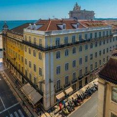 Отель Pestana CR7 Lisboa балкон