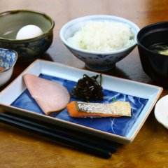 Отель Minshuku Takesugi Якусима питание фото 3