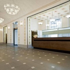 Hotel Glockenhof Цюрих интерьер отеля