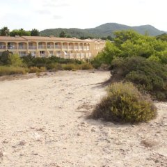 Отель Playasol Cala Tarida Сан-Лоренс де Балафия пляж