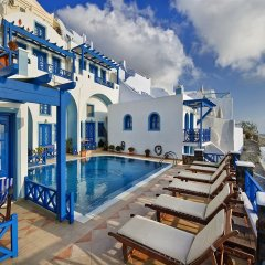 Отель Agnadema Apartments Греция, Остров Санторини - отзывы, цены и фото номеров - забронировать отель Agnadema Apartments онлайн бассейн фото 2
