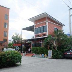 Отель D-Well Residence Don Muang Бангкок парковка