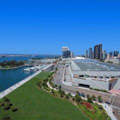 Отель Hilton San Diego Bayfront пляж