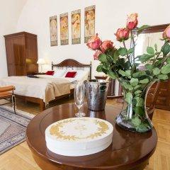 Отель Modra ruze Чехия, Прага - 10 отзывов об отеле, цены и фото номеров - забронировать отель Modra ruze онлайн комната для гостей фото 5