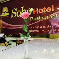 Soho Hotel Dalat Далат удобства в номере фото 2