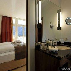 Отель Waldhotel Davos Швейцария, Давос - отзывы, цены и фото номеров - забронировать отель Waldhotel Davos онлайн ванная