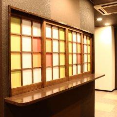 Отель Khaosan Fukuoka Annex Хаката интерьер отеля фото 2