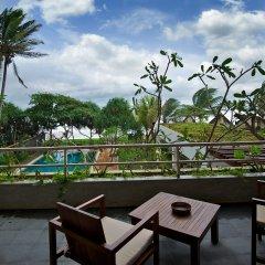 Отель Roman Beach балкон