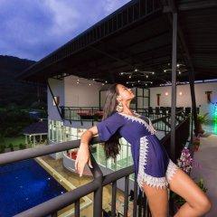 Отель Villa Nap Dau 8 Bedrooms балкон