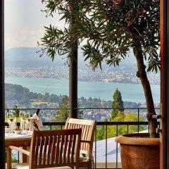 Отель Sorell Hotel Zürichberg Швейцария, Цюрих - 2 отзыва об отеле, цены и фото номеров - забронировать отель Sorell Hotel Zürichberg онлайн балкон