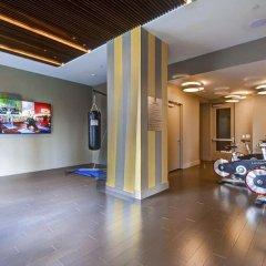 Отель M2 США, Джерси - отзывы, цены и фото номеров - забронировать отель M2 онлайн фитнесс-зал фото 3