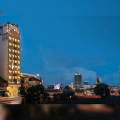 Отель Silverland Central - Tan Hai Long Хошимин приотельная территория фото 2