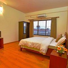 Отель Crown Himalayas Непал, Покхара - отзывы, цены и фото номеров - забронировать отель Crown Himalayas онлайн комната для гостей фото 2