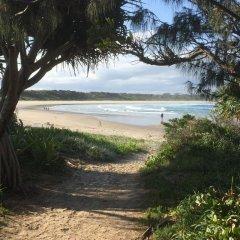 Отель Clarence Head Caravan Park Австралия, Илука - отзывы, цены и фото номеров - забронировать отель Clarence Head Caravan Park онлайн пляж