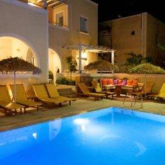 Отель Sellada Apartments Греция, Остров Санторини - отзывы, цены и фото номеров - забронировать отель Sellada Apartments онлайн бассейн фото 2