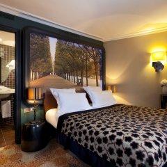Отель Fontaines Du Luxembourg Париж комната для гостей фото 4