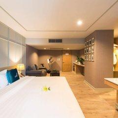 Отель Well Hotel Bangkok Таиланд, Бангкок - отзывы, цены и фото номеров - забронировать отель Well Hotel Bangkok онлайн комната для гостей фото 3