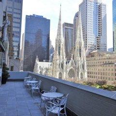 Отель 3 West Club США, Нью-Йорк - отзывы, цены и фото номеров - забронировать отель 3 West Club онлайн балкон