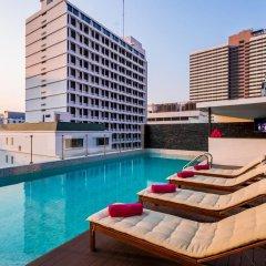 Отель Glow Sukhumvit 5 By Centropolis Бангкок бассейн фото 3