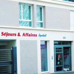 Отель Séjours et Affaires Paris Malakoff парковка