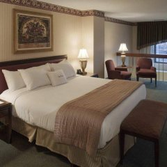 Отель DoubleTree Suites by Hilton Columbus США, Колумбус - отзывы, цены и фото номеров - забронировать отель DoubleTree Suites by Hilton Columbus онлайн комната для гостей фото 5