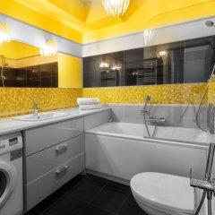 Отель Apartamenty Aparts Польша, Лодзь - отзывы, цены и фото номеров - забронировать отель Apartamenty Aparts онлайн ванная фото 2