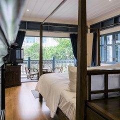 Отель Baan Vajra Бангкок комната для гостей фото 3