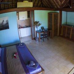 Отель Oa Oa Lodge Французская Полинезия, Бора-Бора - отзывы, цены и фото номеров - забронировать отель Oa Oa Lodge онлайн балкон