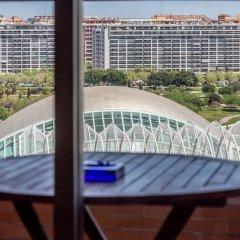 Отель Travel Habitat el Umbracle Испания, Валенсия - отзывы, цены и фото номеров - забронировать отель Travel Habitat el Umbracle онлайн балкон