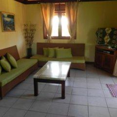 Отель Moorea Golf Lodge Французская Полинезия, Папеэте - отзывы, цены и фото номеров - забронировать отель Moorea Golf Lodge онлайн комната для гостей фото 5