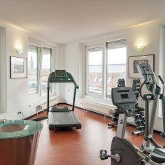 Penck Hotel Dresden фитнесс-зал