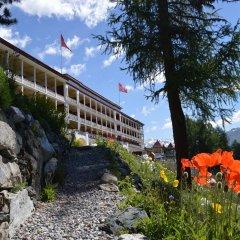Отель Snow & Mountain Resort Schatzalp Швейцария, Давос - отзывы, цены и фото номеров - забронировать отель Snow & Mountain Resort Schatzalp онлайн приотельная территория