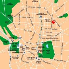 Отель Zenit Abeba Madrid городской автобус