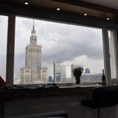 Отель Panda Apartments Grzybowska-Centrum Польша, Варшава - отзывы, цены и фото номеров - забронировать отель Panda Apartments Grzybowska-Centrum онлайн балкон