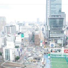 Shibuya Excel Hotel Tokyu Токио городской автобус