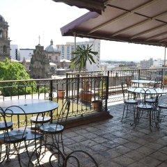 Отель Santiago De Compostela Мексика, Гвадалахара - 1 отзыв об отеле, цены и фото номеров - забронировать отель Santiago De Compostela онлайн балкон