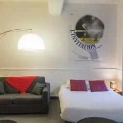 Апартаменты Saint Germain des Pres Apartment Париж комната для гостей фото 7