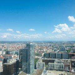Отель Radisson Blu Hotel, Lyon Франция, Лион - 2 отзыва об отеле, цены и фото номеров - забронировать отель Radisson Blu Hotel, Lyon онлайн балкон
