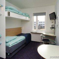 Отель CABINN Aalborg Hotel Дания, Алборг - отзывы, цены и фото номеров - забронировать отель CABINN Aalborg Hotel онлайн комната для гостей фото 4