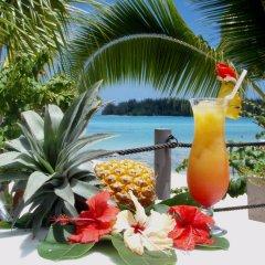 Отель Hibiscus Французская Полинезия, Муреа - отзывы, цены и фото номеров - забронировать отель Hibiscus онлайн питание
