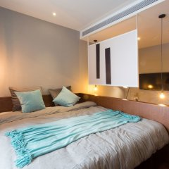 Отель MORE Residence Guangzhou Huaqiaoxincun комната для гостей фото 3